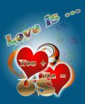 Love Is - Valentine-s Card by marthig