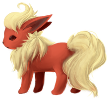 Flareon by Sarucho