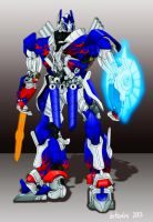 Optimus Prime Age of Extinction by isterini