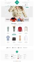 Modello - eCommerce PSD Template by DarkStaLkeRR