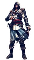 Heath Ledger as Edward James Kenway by TheOldMan11342501