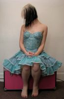 Blue Dress Stock 27 by KristabellaDC3
