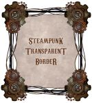 Steampunk Border by zememz