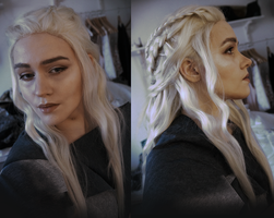 Makeup test- Daenerys (Game of thrones) by nealicraft