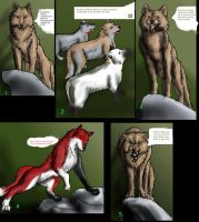 wolf comic page 1 by GWolfG