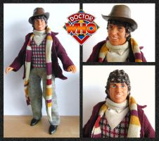 Tom Baker Doll by mikedaws