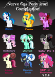 Pony Icons Compilation V 2.0 by Nerve-Gas