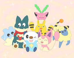 Top cutest Pokemon of all times! :3 by kovuification