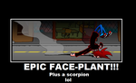 EPIC FACE PLANT!!! by InvaderZimFreakGirl1