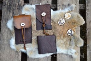 pouches and wallet by The-Beast-Man