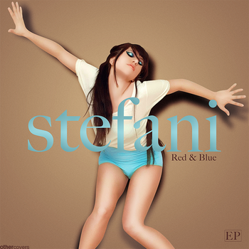 Stefani - Red and Blue v2 by other-covers