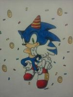 Happy 20th Sonic by android17lover