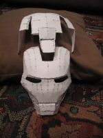 Iron Man's Helmet: Unfinished by YoshiFHP