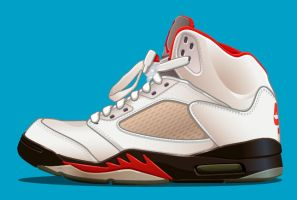 AIR JORDAN 5 by KLRbee