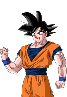 Goku Render by SaoDVD