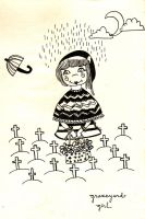 Graveyard Girl by 24happyhours