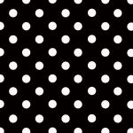 Black + White Polka-dot paper by Polstars-Stock