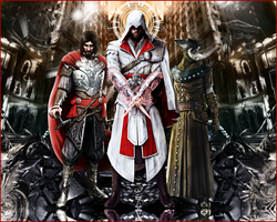 Assassin's Creed Brotherhood 1 by LilSaintJA