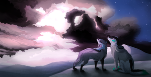the force of nature +speedpaint+ by Mori-No-Kami