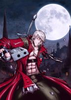 Dante Devil May Cry by RecklessHero