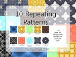10 Repeating Patterns by Kaze-Hime