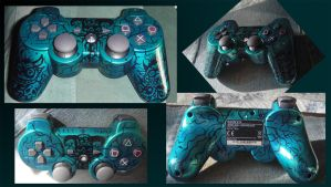 demons ps3 controller by Livindeath