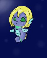 seahorse by puppetstringz