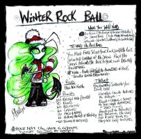 WintER ROcK BaLL by megoboom