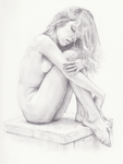 Nude portrait by reyler