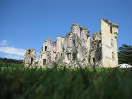 Old Wardour Castle by Meepyourface