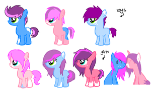 Foals 4- For lilybelle101 by Rainbow-ninja-adopts