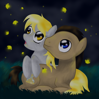 Hearts and Hooves Night by Annedwen