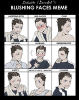 Dolcetto's blushing face meme - remake by fmabigfan