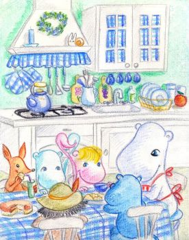 In moomins kitchen by jkBunny