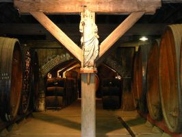 the Patron Saint of the Winery by dirtycar74