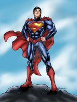 DCNU Superman by albieart