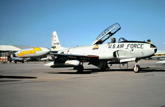 Griffiss T-33A by F16CrewChief