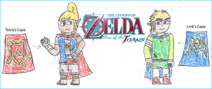 Rise of the Titans: Link and Tetra Designs by SuperMarioOrigins