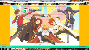 Tales of series Chrome Theme by Lina1562