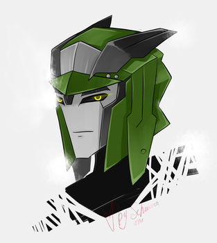 TFP free headshot 2 by Schwarz-one