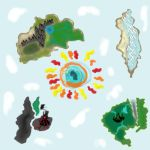 Orbahlen World Map by Dreamaniacal