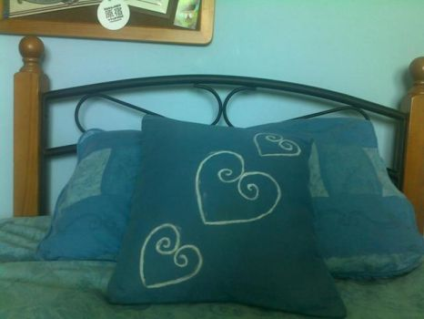my first submitted pillow by amyyy-xD