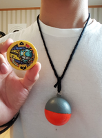 Bushinyan Youkai Medal and Kitty-bell Necklace by StealthNinja5