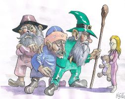 Molly's Gnomes by hcollazo2000