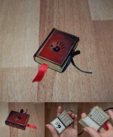 TES art: mini book (3x4) - 'Dark Brotherhood' by Sereniti-Dragonheart