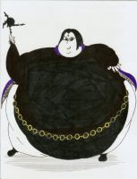 Obese Raven by Robot001