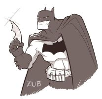 Batsketch by Zubby
