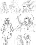 Hellsing Doodles by orellanam