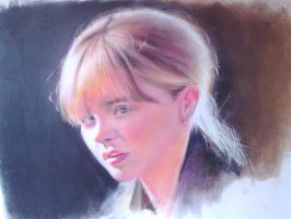 My drawing of ChloeGraceMoretz by fantafiction