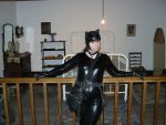 Catwoman in the bedroom 2 by CatwomanofTheSouth
